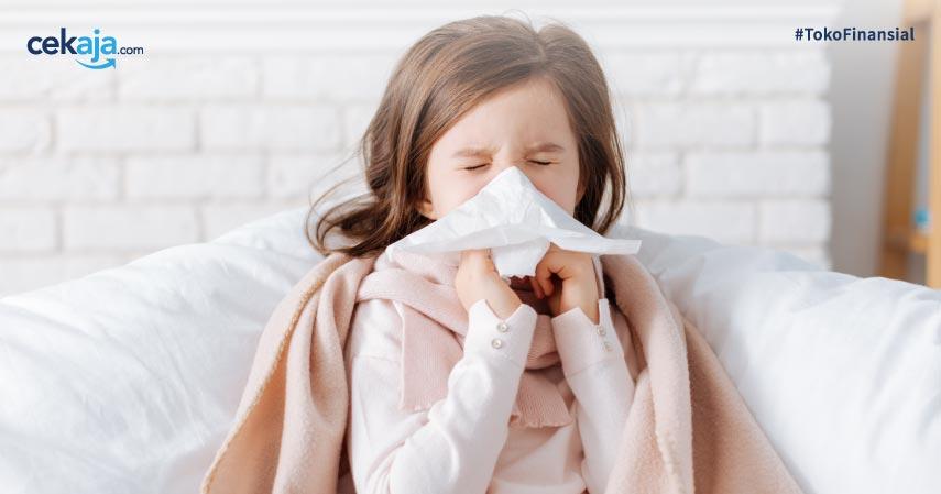 cara mengatasi batuk pilek pada bayi