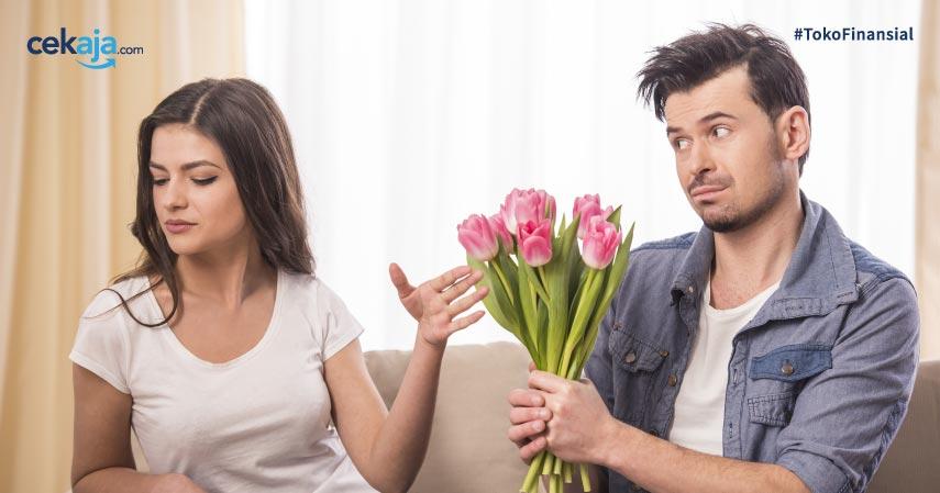 cara menghibur istri marah