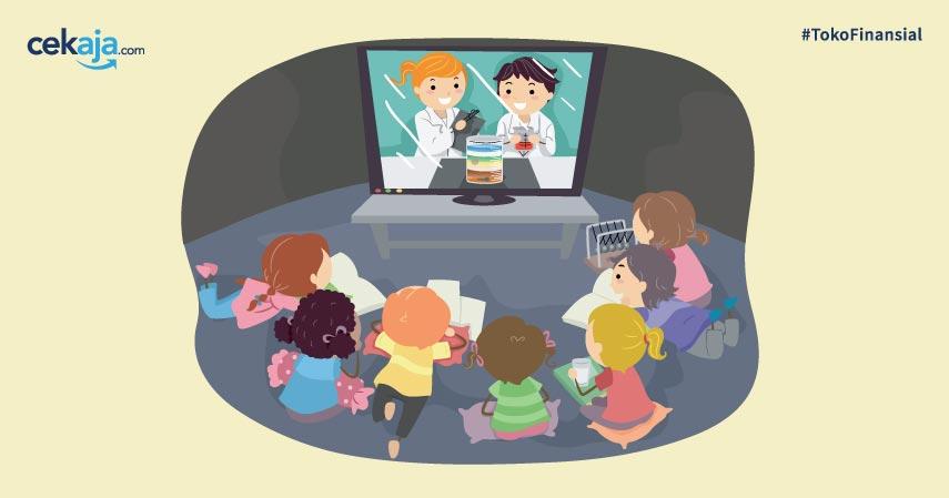 Jadwal dan Materi Tayangan Pembelajaran TVRI Minggu 1. Yuk, Simak!