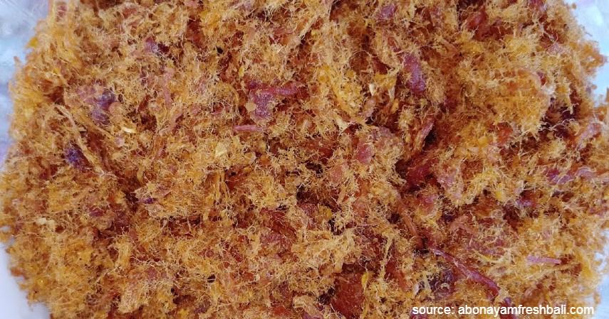 Abon Ayam - Membuat Menu Sahur Inilah Beberapa Resep Makanan Yang Tahan Lama