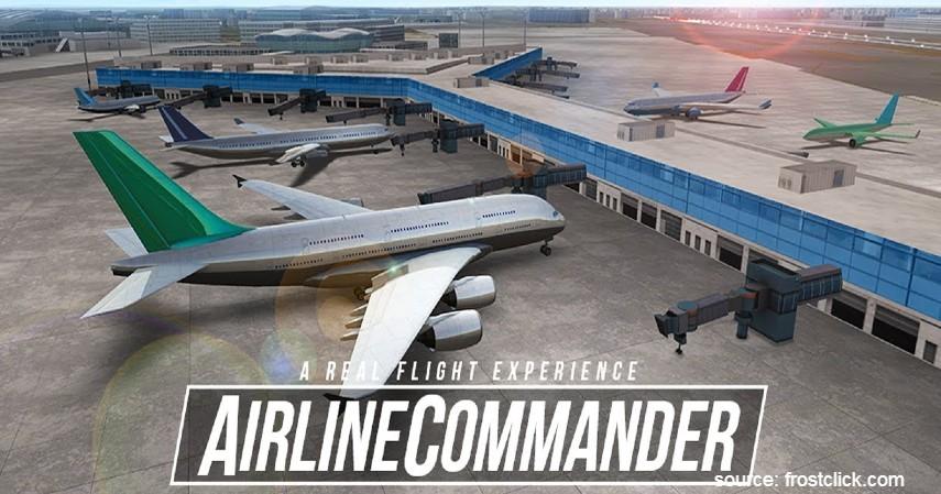 Airline Commander - Rekomendasi Games Pesawat Terbang Buat yang Gagal jadi Pilot