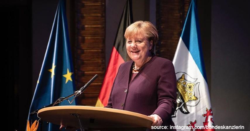 Angela Markel Kanselir Jerman - Berantas Corona jadi Tugas Berat Kartini Masa Kini