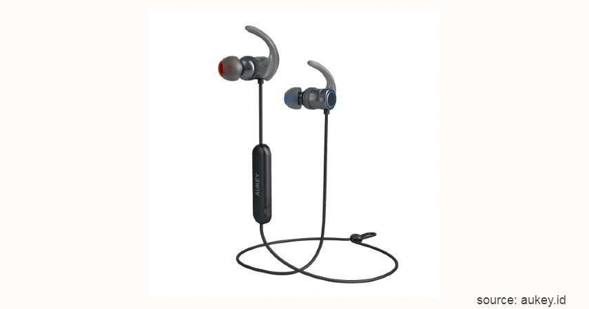 Aukey APTX-500307 - 7 Rekomendasi Earphone Terbaik di Bawah 1 Juta