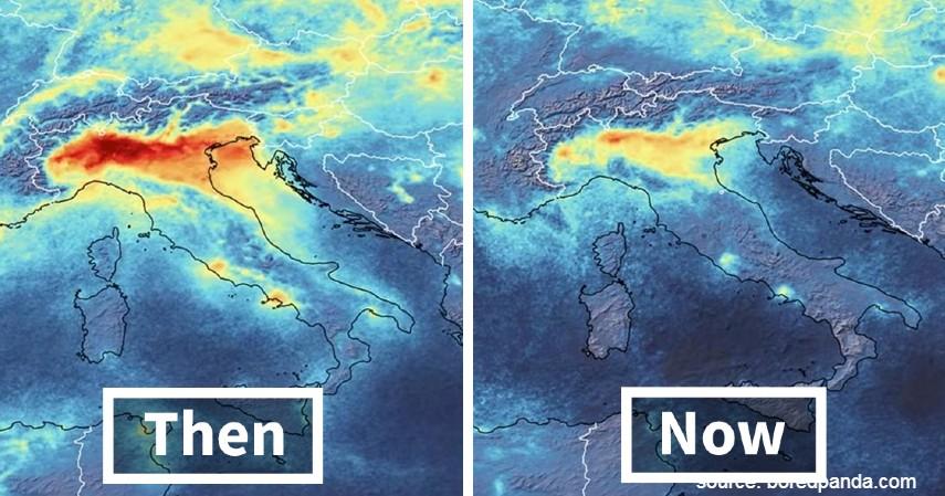 Berkurangnya Emisi Karbon di Italia - Hemat Energi Corona Bikin Polusi Berkurang di 4 Negara Ini