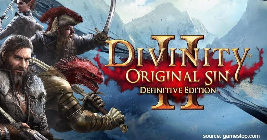 Divinity Original Sin II Definitive Edition - 10 Game PS4 terbaik 2020 Paling Direkomendasikan Para Gamer Dunia