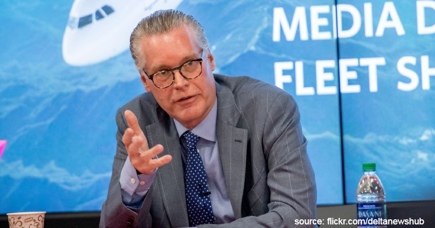 Ed Bastian CEO Delta Airlines - 5 Bos Panutan Ini Rela Puasa Gajian Biar Gak PHK Karyawan