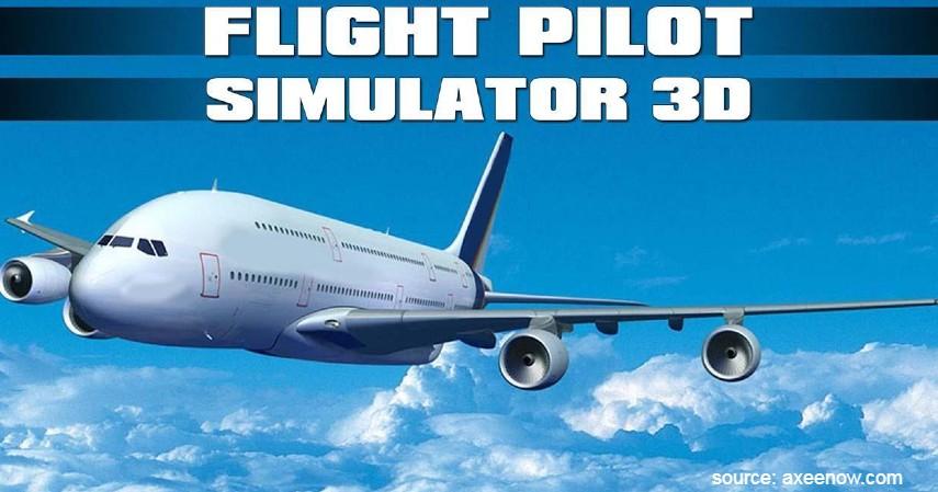 Flight Pilot Simulator 3D - Rekomendasi Games Pesawat Terbang Buat yang Gagal jadi Pilot