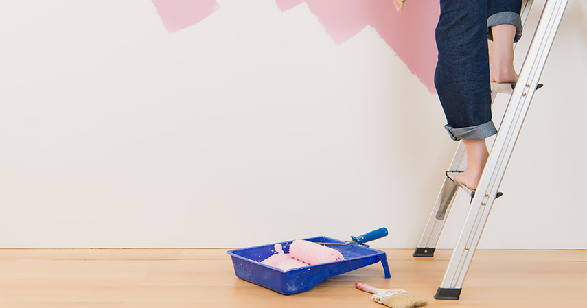 Ganti warna cat rumah - Bulan Puasa Tiba Dekor Ulang Rumah Yuk Biar Syahdu
