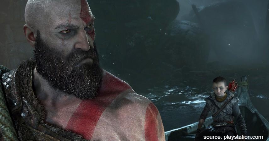 God of War - 10 Game PS4 terbaik 2020 Paling Direkomendasikan Para Gamer Dunia