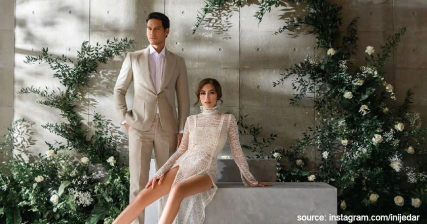Jessica Iskandar - Richard Kyle - Deretan Artis yang Tunda Pesta Pernikahan Karena Corona
