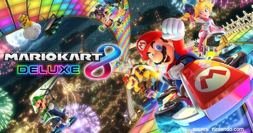 Mario Kart 8 Deluxe - Game Nintendo Switch Terbaik yang Bikin Kamu Gak Bisa Berhenti Main