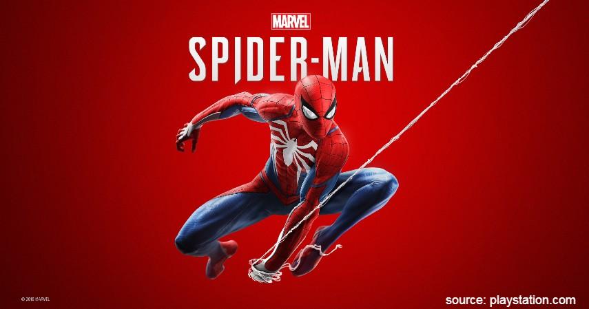 Marvel Spider-Man - 10 Game PS4 terbaik 2020 Paling Direkomendasikan Para Gamer Dunia