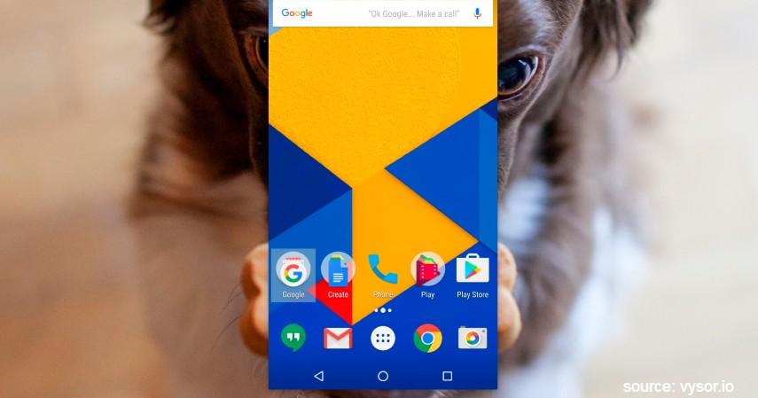 Menggunakan Vysor - 4 Cara Mirroring Android ke PC Paling Mudah