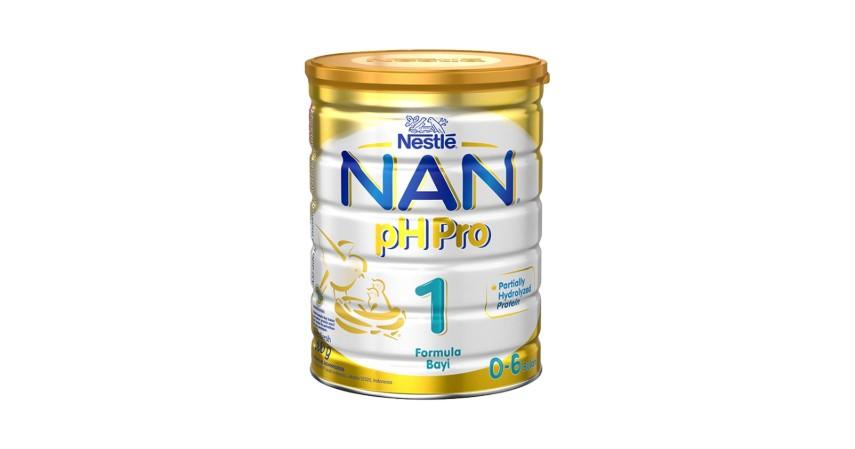 Nan PH Pro 1 - 8 Rekomendasi Susu Formula Bayi Terbaik beserta Jenisnya