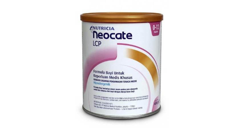 Nutricia Neocate LCP - 8 Rekomendasi Susu Formula Bayi Terbaik beserta Jenisnya