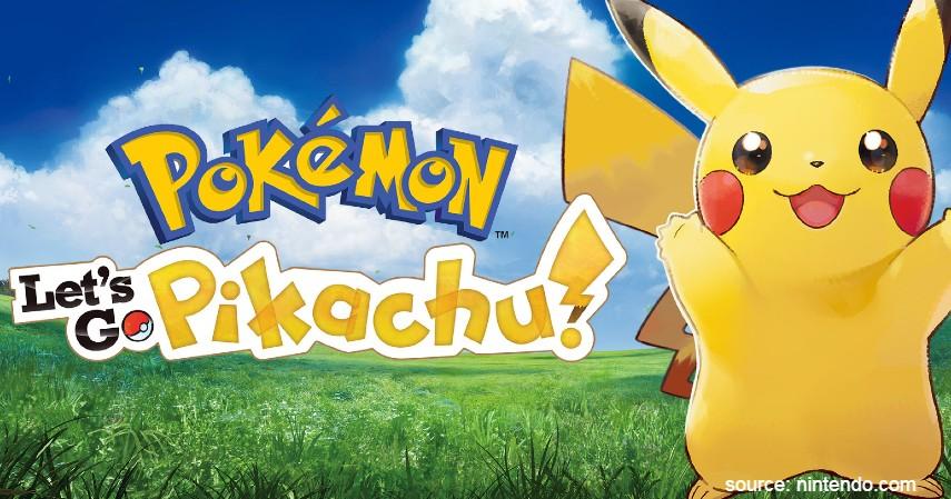 Pokemon Lets Go Pikachu Eevee - Game Nintendo Switch Terbaik yang Bikin Kamu Gak Bisa Berhenti Main