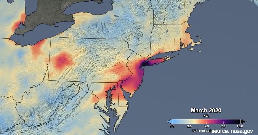 Polusi Amerika Serikat Berkurang - Hemat Energi Corona Bikin Polusi Berkurang di 4 Negara Ini