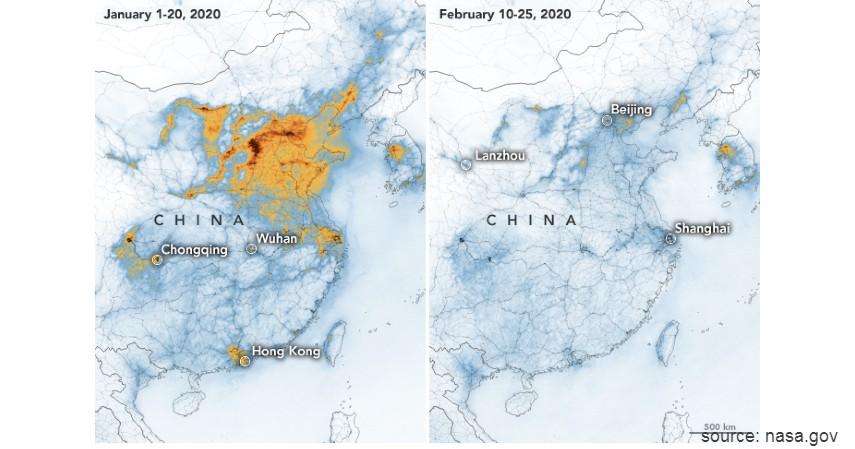 Polusi Udara di China Berkurang - Hemat Energi Corona Bikin Polusi Berkurang di 4 Negara Ini
