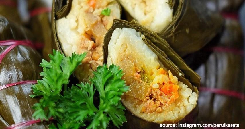 Resep Lontong Isi Sayuran Wortel dan Kentang - Resep Membuat Lontong Isi Oncom Sayuran dan Ayam Anti Gagal