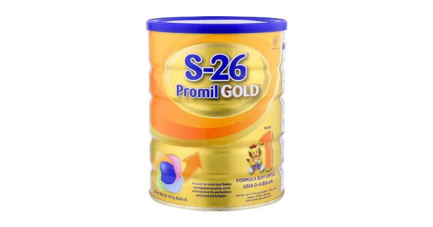 S-26 Promil Gold Tahap 1 - 8 Rekomendasi Susu Formula Bayi Terbaik beserta Jenisnya