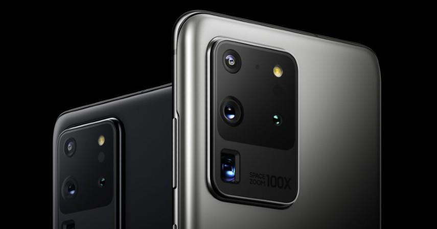 Samsung Galaxy S20 Ultra - Kamera Smartphone Terbaik 2020 Ada yang Dilengkapi 4 Lensa Sekaligus