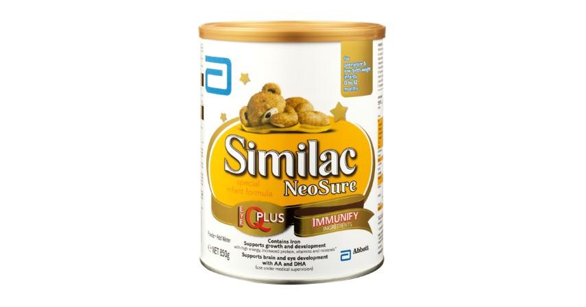 Similac Neosure - 8 Rekomendasi Susu Formula Bayi Terbaik beserta Jenisnya