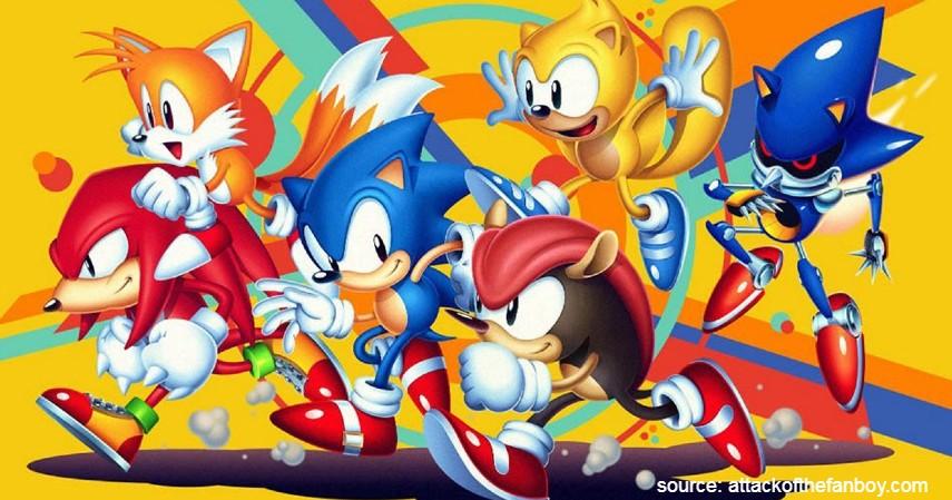 Sonic Mania Plus - 10 Game PS4 terbaik 2020 Paling Direkomendasikan Para Gamer Dunia