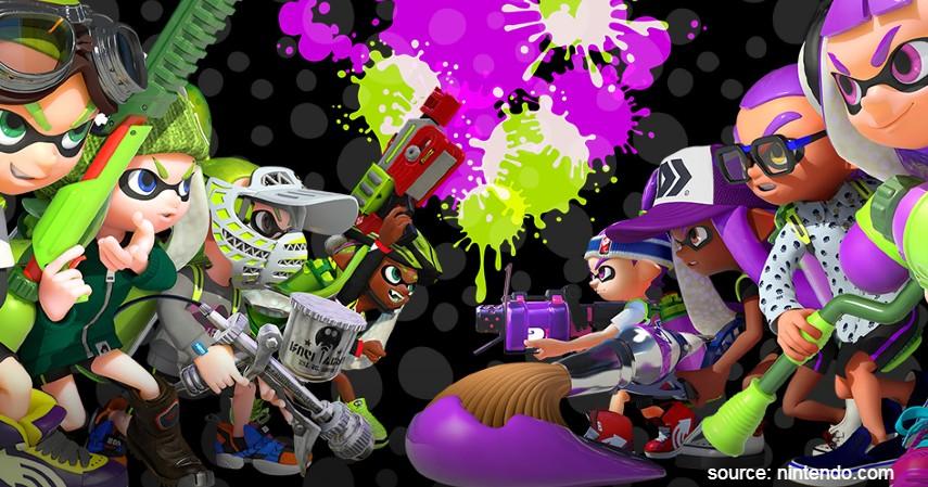 Splatoon - Game Nintendo Switch Terbaik yang Bikin Kamu Gak Bisa Berhenti Main