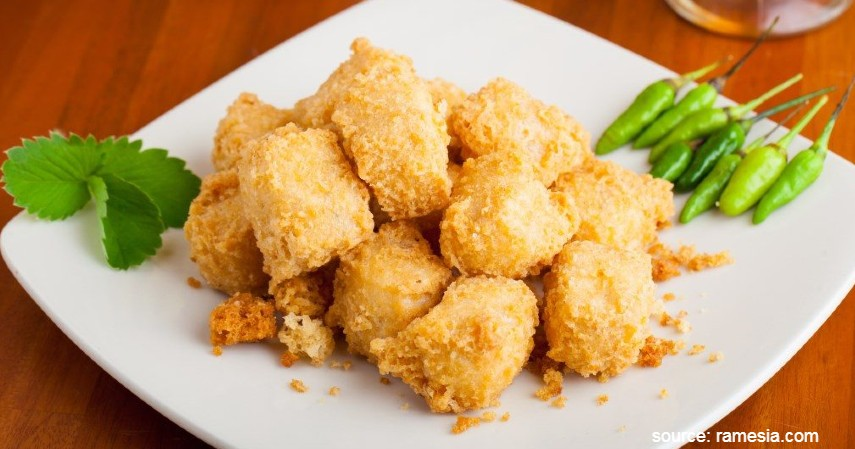 Tahu Crispy - 7 Resep Cemilan Mudah untuk Peneman WFH di Rumah