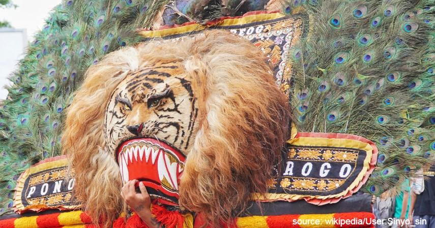 Tari Reog Ponorogo - Hari Tari Sedunia Ini 5 Tarian Indonesia yang Sudah Mancanegara