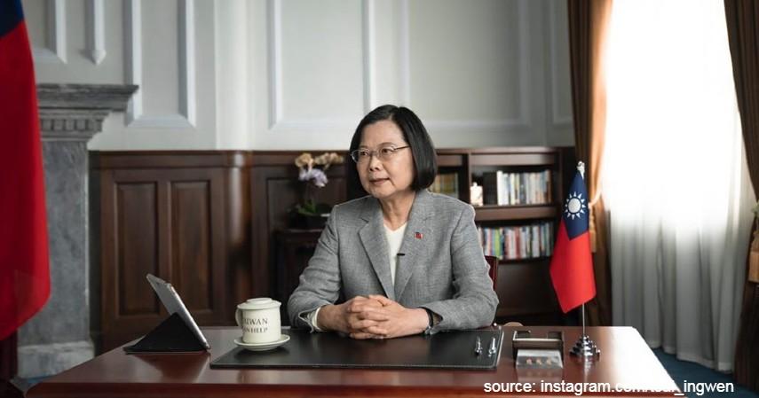 Tsai Ing-wen Presiden Taiwan - Berantas Corona jadi Tugas Berat Kartini Masa Kini