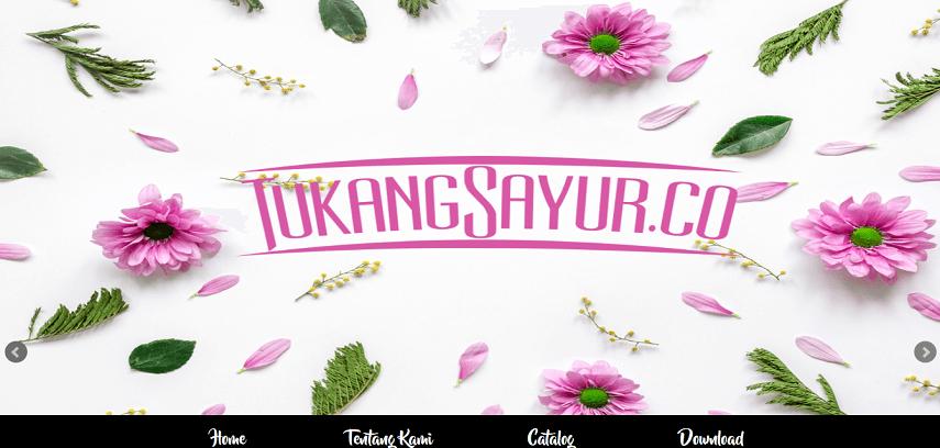 TukangSayur - Situs Belanja Sayur Online dan Cara Memesannya