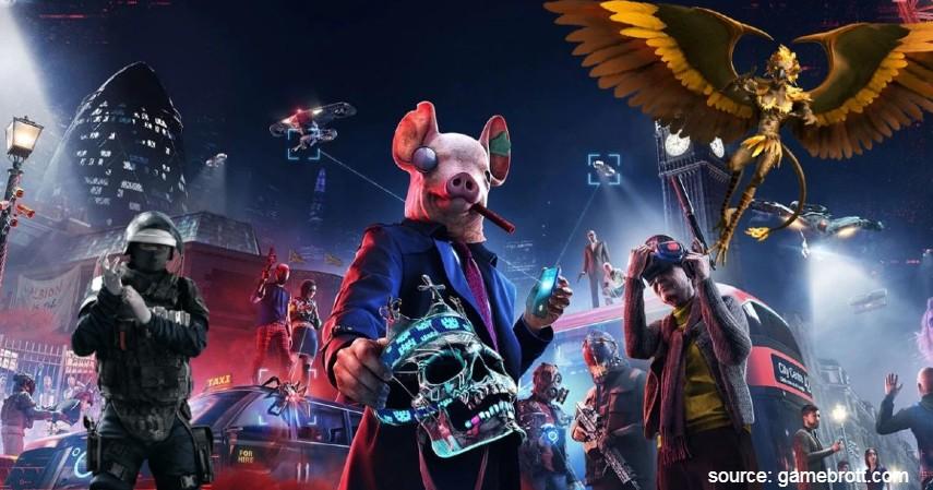 Watch Dogs Legion - 10 Game PS4 terbaik 2020 Paling Direkomendasikan Para Gamer Dunia