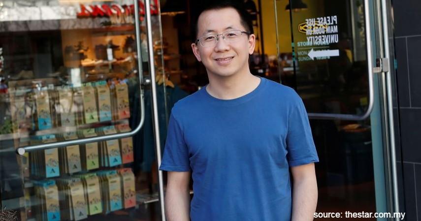 Zhang Yi Ming Bos TikTok - 5 Crazy Rich yang Gelontorkan Uang untuk Penanganan Corona di Indonesia