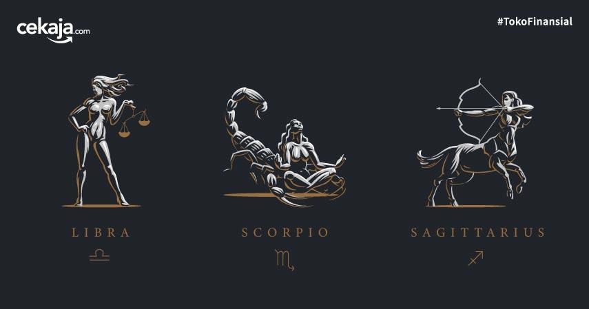 Keuangan Zodiak Libra, Scorpio, dan Sagitarius Bulan Mei 2020