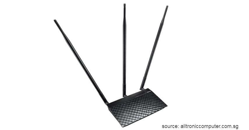 Asus RT-N14UHP High Power Wireless Router - 7 Daftar Merk Router WiFi Terbaik 2020 ini Bikin WFH Jadi Lancar