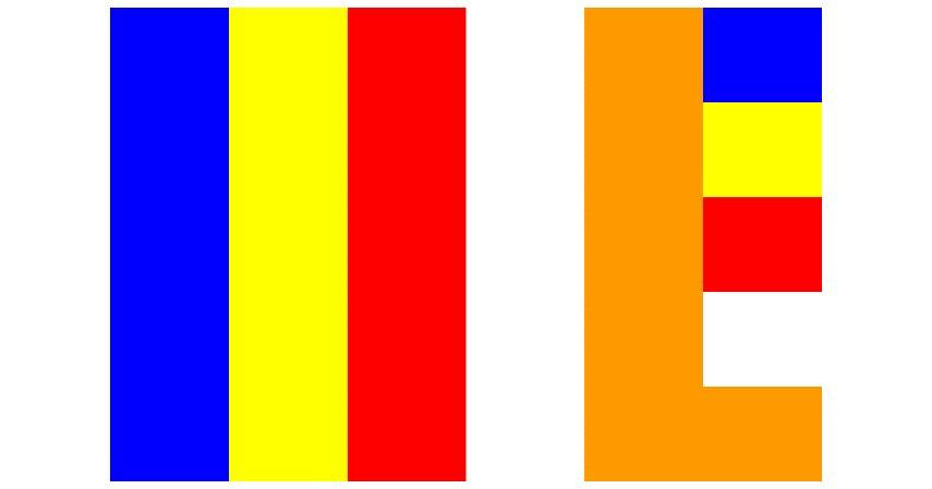 Bendera Budha - Jualan 4 Barang Ini Saat Waisak Dijamin Untung
