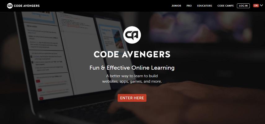 Code Avengers - 10 Situs Belajar Coding Mudah dan Serba-serbinya yang Perlu Diketahui