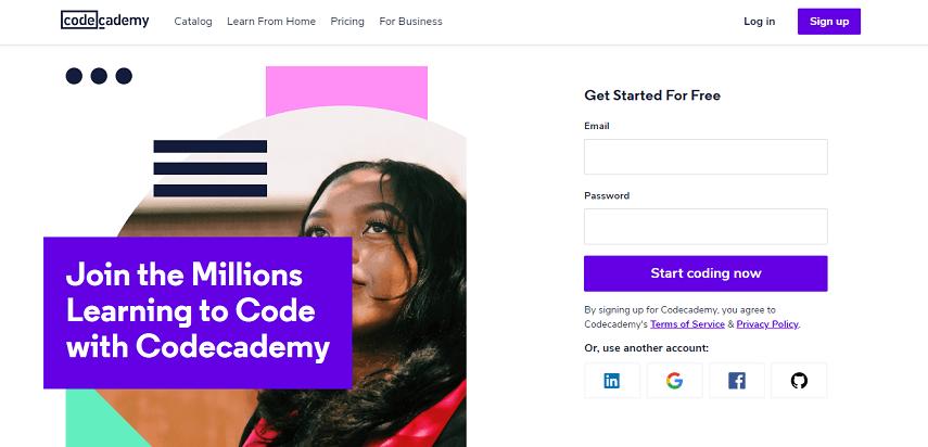Codecademy - 10 Situs Belajar Coding Mudah dan Serba-serbinya yang Perlu Diketahui