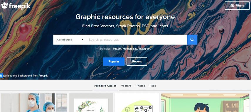 Freepik - 8 Daftar Situs Penyedia Mockup Gratis yang Bisa Mendukung Proyek Desain Kamu