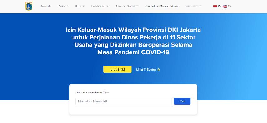 Harus Memiliki SIKM - Catat 2 Syarat Masuk Jakarta