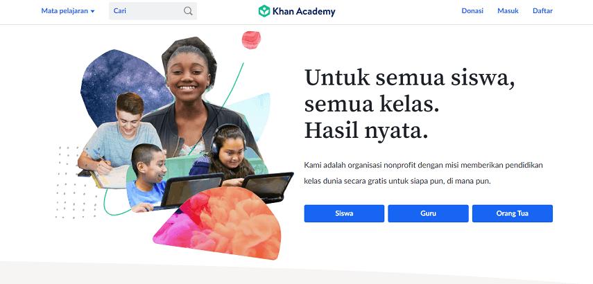 Khan Academy - 10 Situs Belajar Coding Mudah dan Serba-serbinya yang Perlu Diketahui