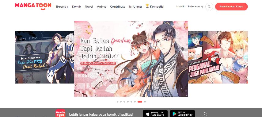 Manga Toon - Daftar Situs Komik Online Bahasa Indonesia Terbaru 2020