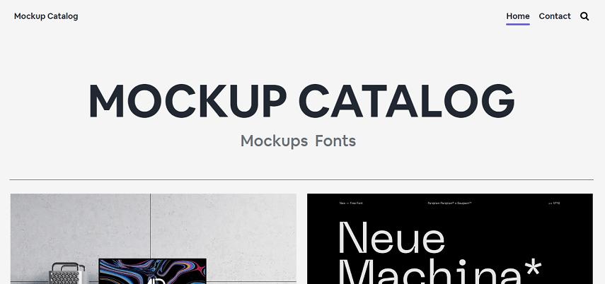 Mockup Catalog - 8 Daftar Situs Penyedia Mockup Gratis yang Bisa Mendukung Proyek Desain Kamu