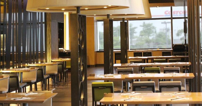 Rumah makan dan restoran tidak boleh diisi penuh