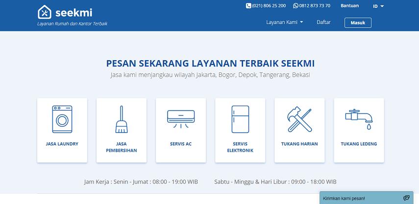 Seekmi - Ini Dia 5 Situs Penyedia Layanan Service AC Rumah Terbaik di Jakarta