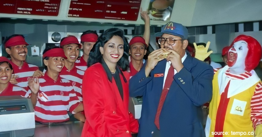 Sejarah McD Sarinah Restoran Cepat Saji Pertama di Hari Valentine