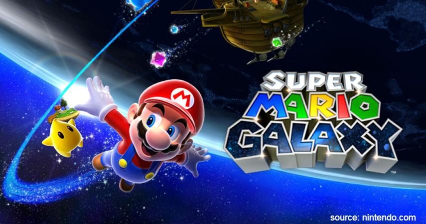 Super Mario Galaxy 1 dan 2 - 7 Game Nintendo Wii Terbaik 2020 Paling Seru