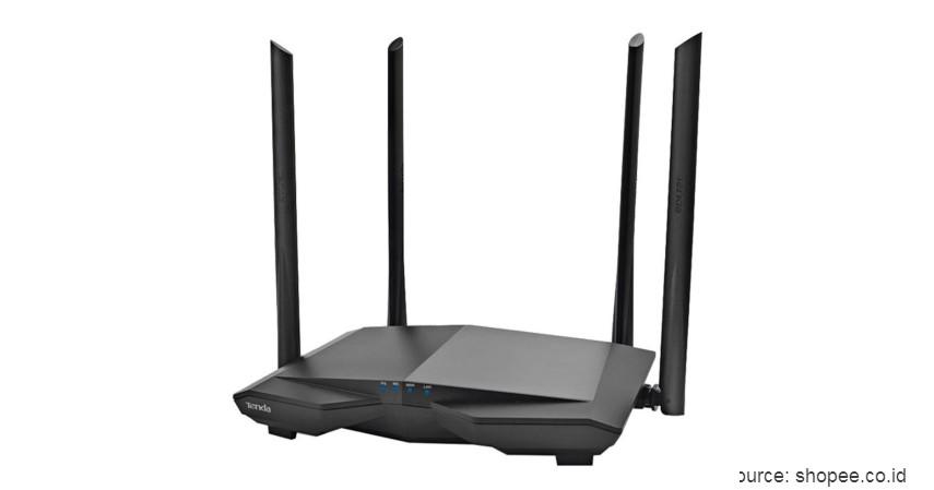 Tenda AC6 AC1200 - 7 Daftar Merk Router WiFi Terbaik 2020 ini Bikin WFH Jadi Lancar