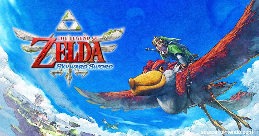 The Legend of Zelda Skyward Sword - 7 Game Nintendo Wii Terbaik 2020 Paling Seru